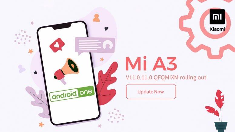 Xiaomi Mi A3 в третий раз обновляют до Android 10