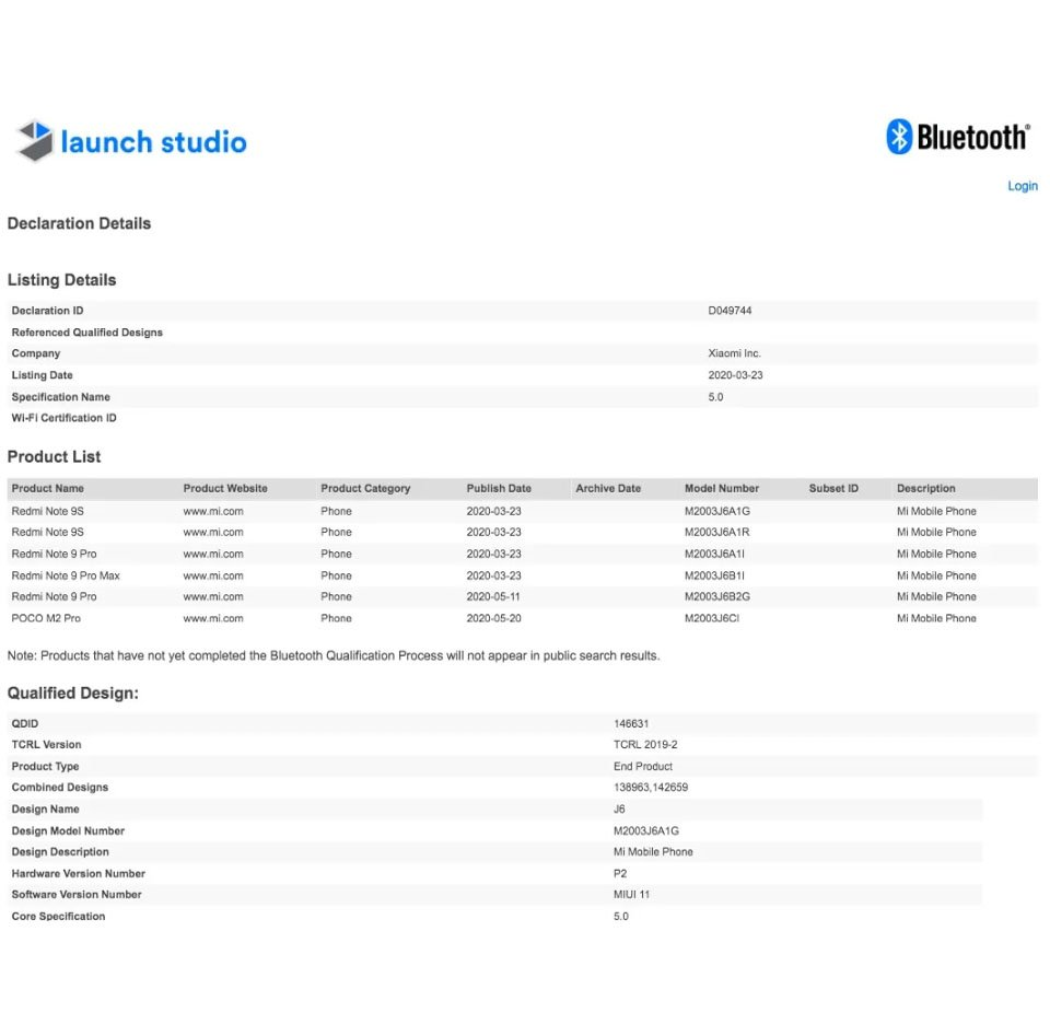 Смартфон Poco M2 Pro прошел сертификацию BIS в Индии