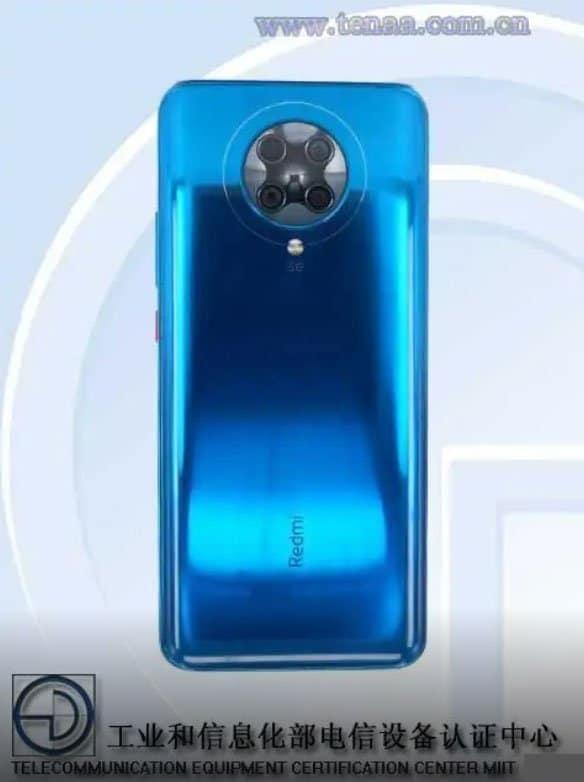 Изображения Redmi K30 Ultra появились в TENAA