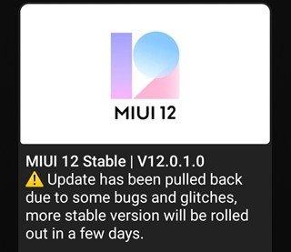 Процесс выпуска прошивок MIUI 12 - что нового на 08.08.20?