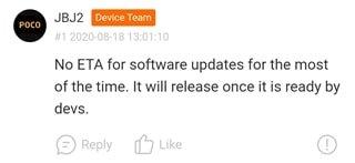 Ситуация с выходом MIUI 12 для Redmi Note 8 и Note 8T