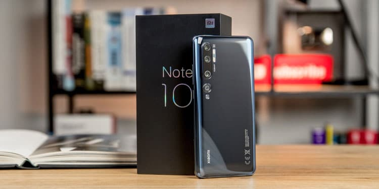 Пользователи Xiaomi Mi Note 10 в Европе получают MIUI 12