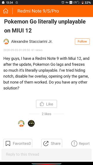 Оболочка MIUI 12 снижает производительность Redmi Note 9