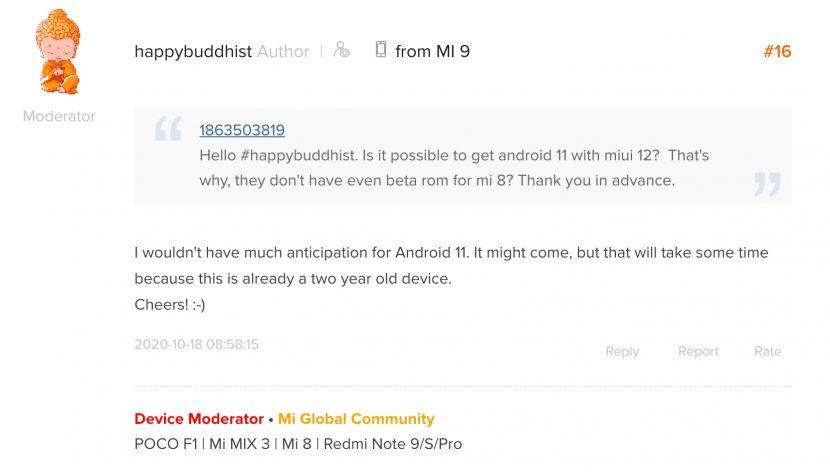мнение модератора Xiaomi по поводу MIUI 12 для Mi 9