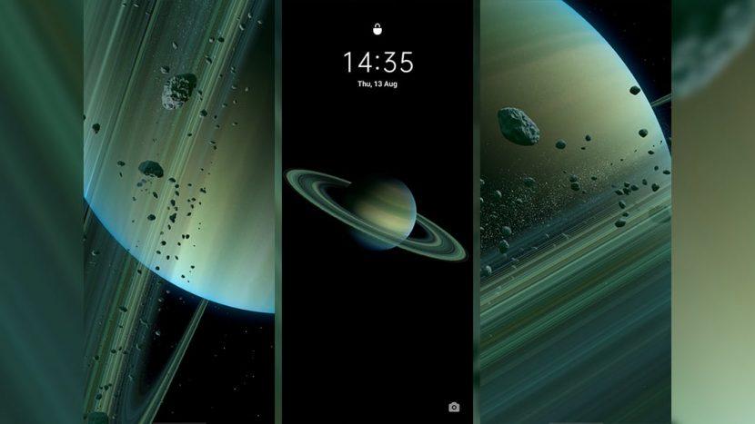 суперобои кольца Сатурна