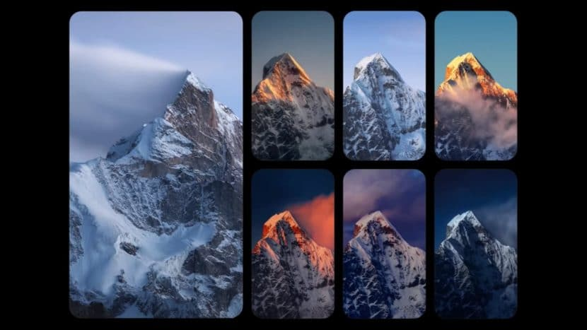 супер обои Mount Siguniang