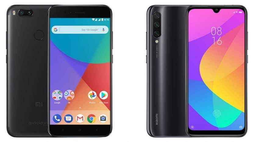 Xiaomi Mi A1 и Mi A3