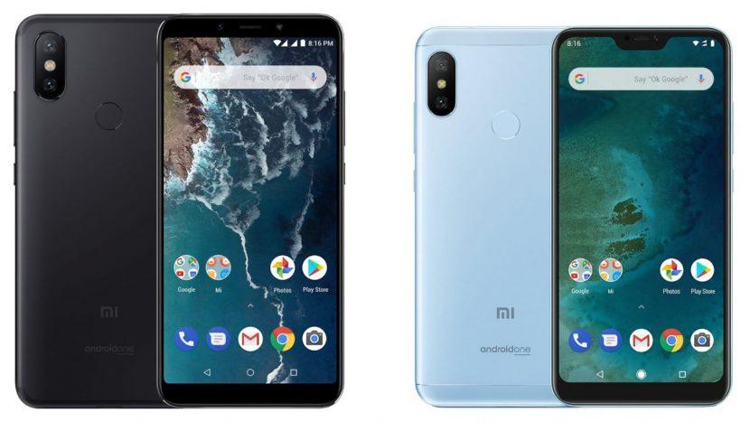 Xiaomi Mi A2 и A2 Lite