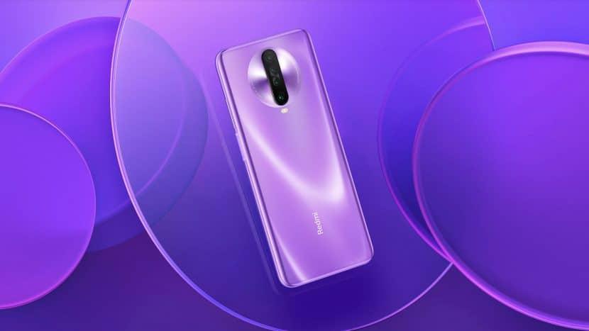 redmi k30 пурпурный