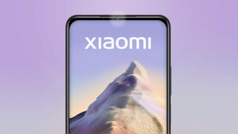 селфи-камера в рамке телефона Xiaomi